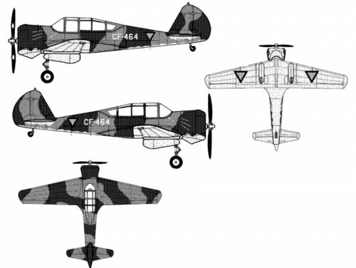 Curtiss CW-22B Falcon