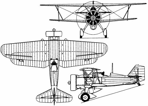 Curtiss F11C Goshawk (1934)