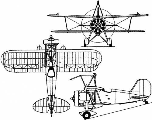 Curtiss F9C Sparrowhawk / Model 58 (1931)
