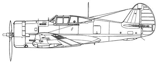 Curtiss H-75A-1 Hawk