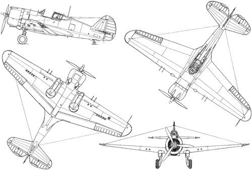 Curtiss H-75A-2 Hawk