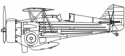Curtiss Model 68 Hawk lll