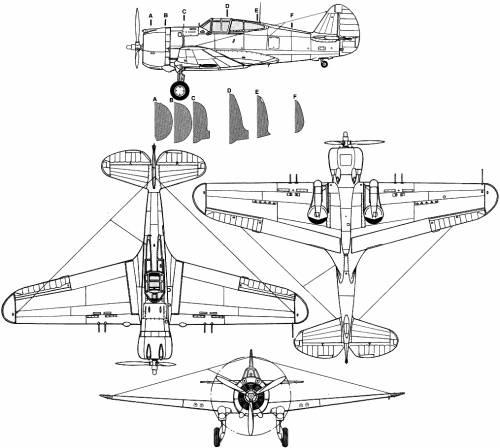 Curtiss P-36 Hawk 75
