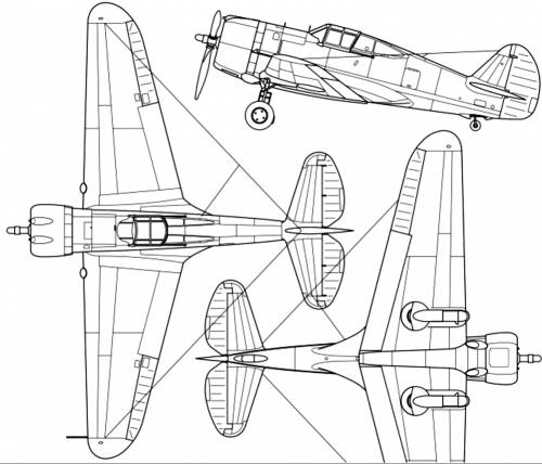 Curtiss P-36A Hawk 75