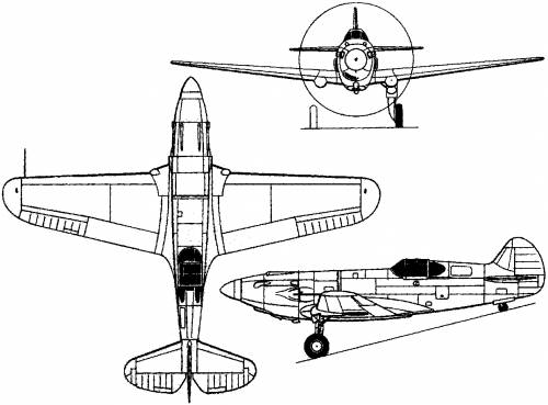 Curtiss P-37 (1937)