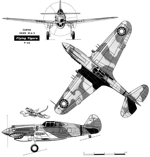 Curtiss P-40 Hawk 81A-3