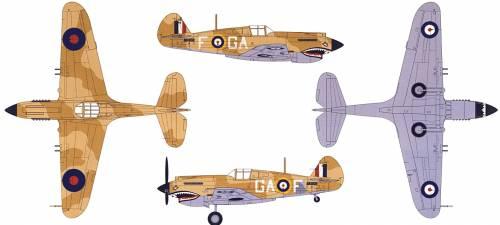Curtiss P-40B Tomahawk Mk.IIb