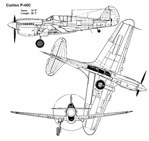 Curtiss P-40C