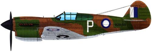 Curtiss P-40E Kittyhawk IA