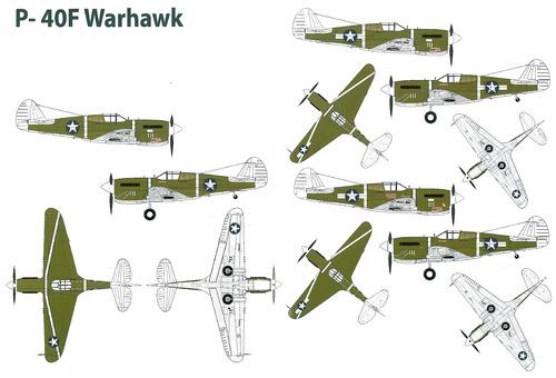 Curtiss P-40F Warhawk - Kittyhawk