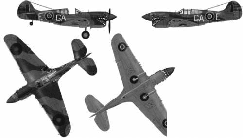 Curtiss P-40K Kittyhawk Mk.III