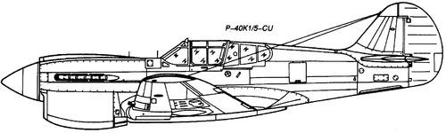 Curtiss P-40K Warhawk Kittyhawk Mk.III