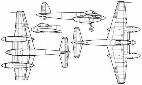 de Havilland DH.103 Hornet F Mk.I