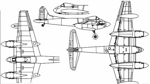 de Havilland DH.103 Hornet F Mk.III