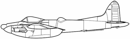 de Havilland DH.103 Sea Hornet NF Mk.21