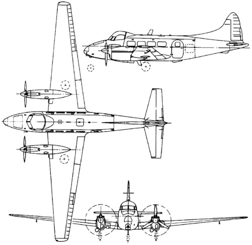 de Havilland DH.104 Dove / Devon (1945)