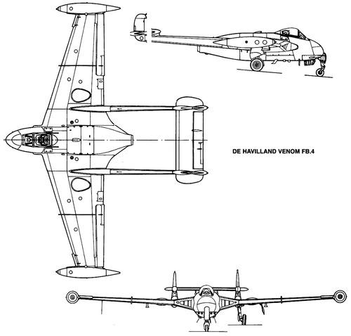 de Havilland DH.112 Venom FB Mk.IV