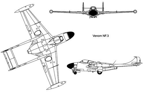 de Havilland DH.112 Venom NF Mk.III