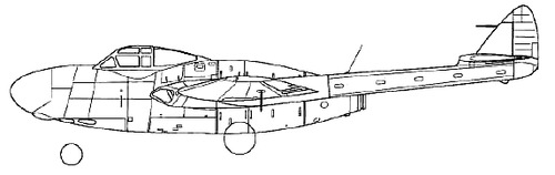 de Havilland DH.113 Vampire NF.10