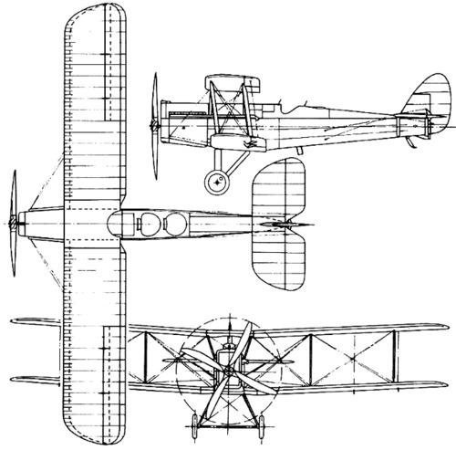 de Havilland DH.14 Okapi (1919)