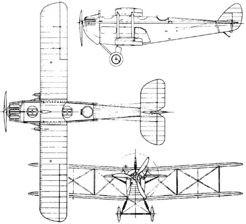 de Havilland DH.18 (1920)