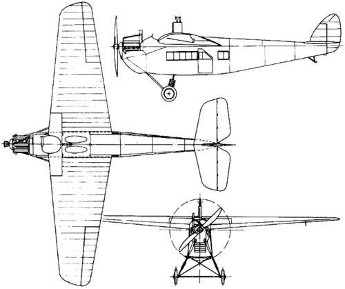 de Havilland DH.29 Doncaster (1921)