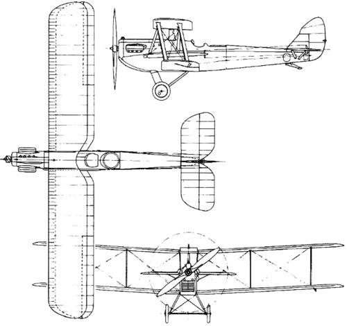 de Havilland DH.65 Hound (1926)