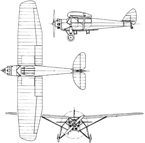 de Havilland DH.75 Hawk Moth (1928)