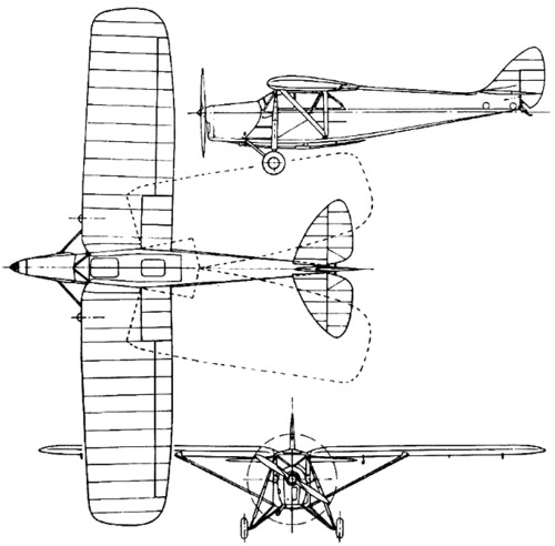 de Havilland DH.80 Puss Moth (1929)