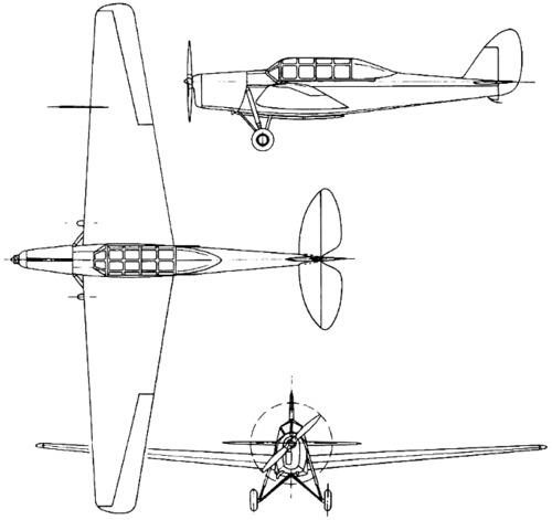 de Havilland DH.81 Swallow Moth (1931)