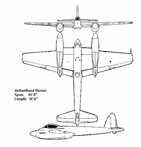 de Havilland DH.87 Hornet