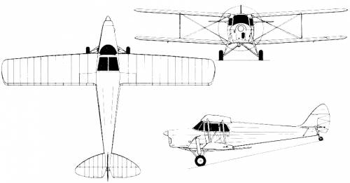 de Havilland DH.87B Hornet Moth