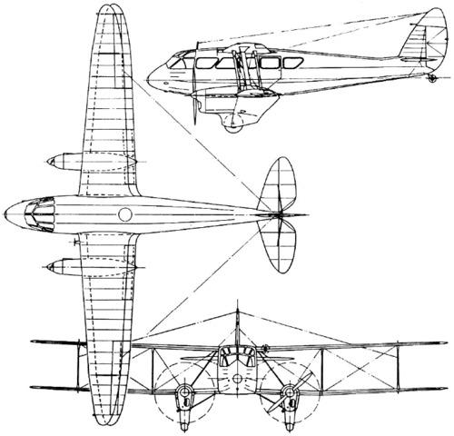 de Havilland DH.89 Dragon Rapide (1934)