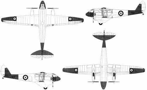 de Havilland DH.89A Dragon Rapid