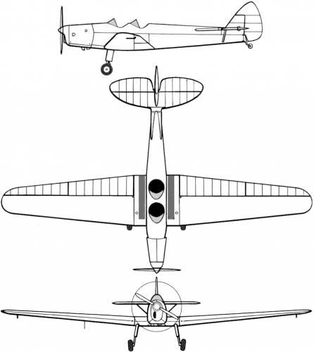 de Havilland DH.94 Moth Minor