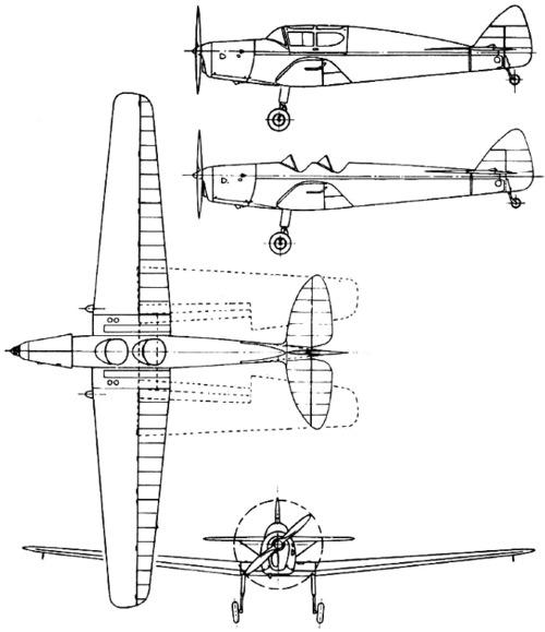 de Havilland DH.94 Moth Minor (1937)
