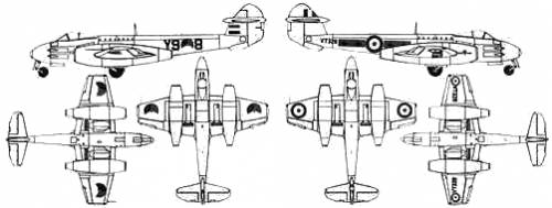 Gloster Meteor F.6