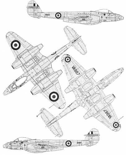 Gloster Meteor PR Mk.10