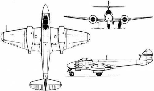 Gloster Meteur F.III