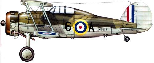 Gloster Sea Gladiator Mk I