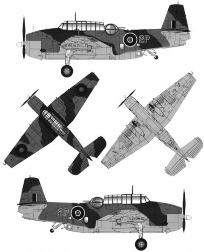 Grumman Avenger Mk.I RAF