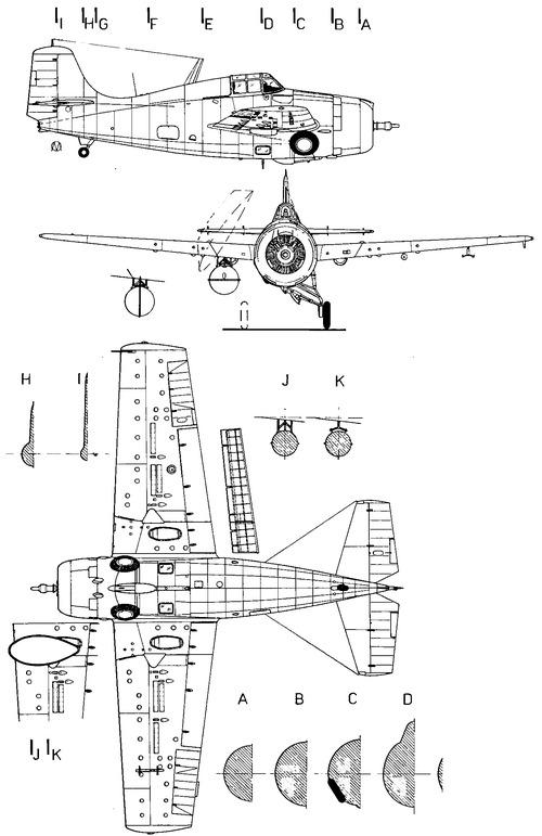 Grumman F4F-1 Wildcat