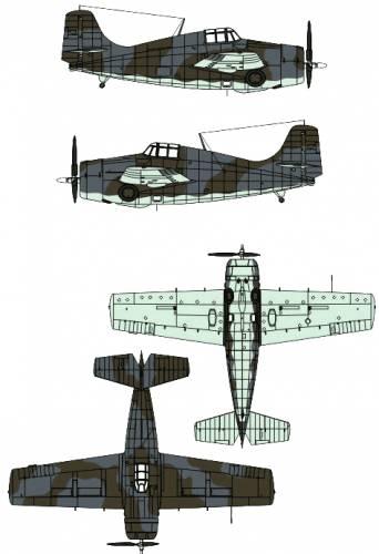 Grumman F4F Martlet Mk. I
