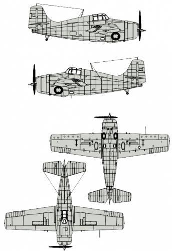Grumman F4F Martlet Mk. III