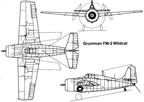 Grumman F4F Wildcat (General Motors FM-2)