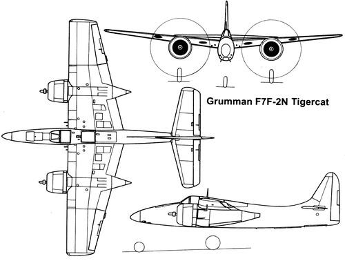Grumman F7F-2N Tigercat