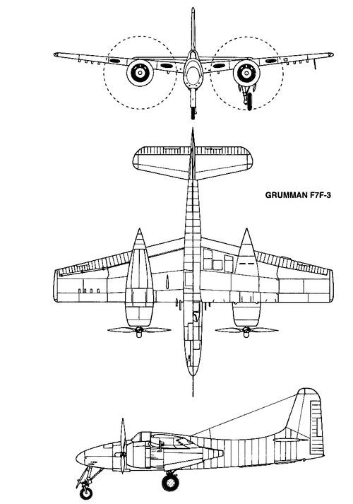 Grumman F7F-3 Tigercat