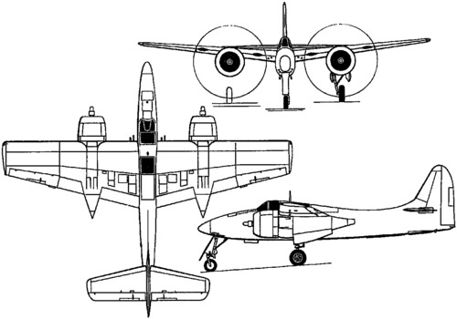 Grumman F7F Tigercat (1943)
