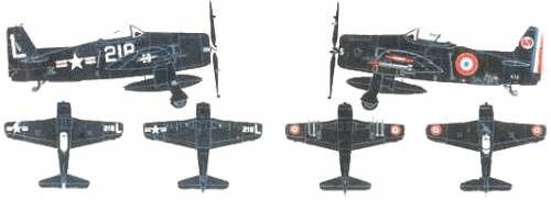 Grumman F8F-1B Bearcat