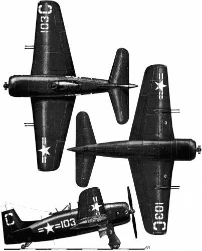 Grumman F8F-2 Bearcat (1949)